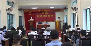 UBND huyện Hạ Lang triển khai nhiệm vụ 3 tháng cuối năm