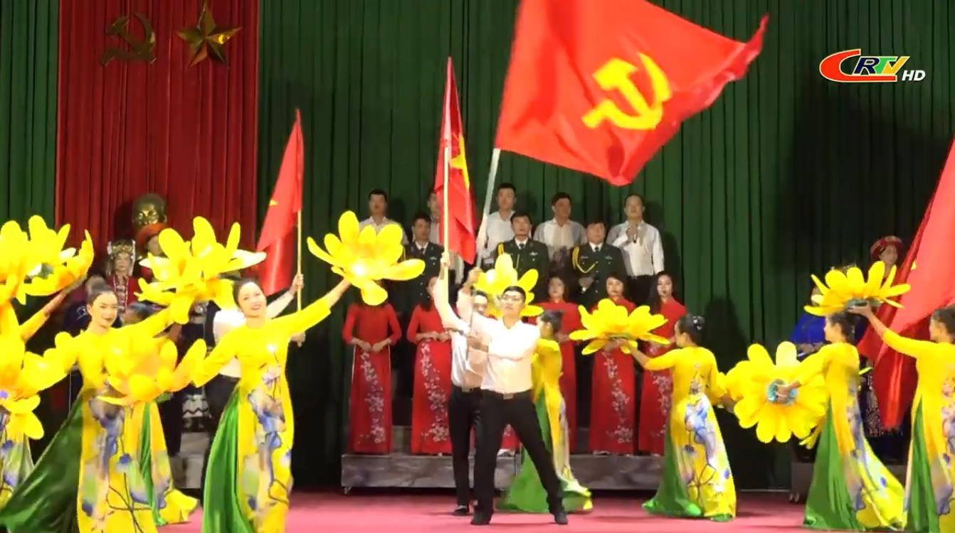 Tổng duyệt chương trình nghệ thuật chào mừng Đại hội đại biểu Đảng bộ tỉnh Cao Bằng lần thứ XIX, nhiệm kỳ 2020 - 2025