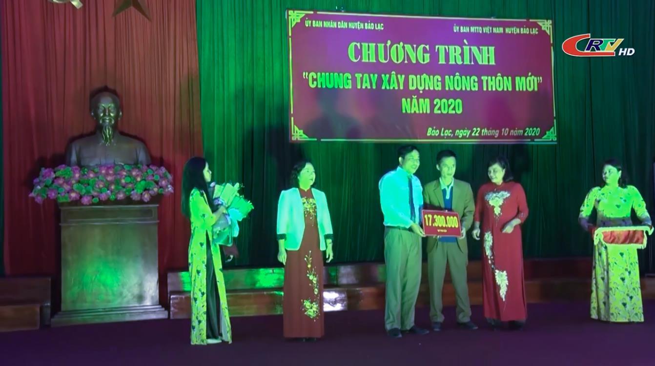 Bảo Lạc: Chung tay xây dựng xã Huy Giáp đạt chuẩn nông thôn mới vào năm 2020