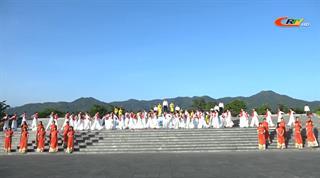 Tổng duyệt chương trình nghệ thuật chào mừng thành công Đại hội Đảng bộ tỉnh lần thứ XIX, nhiệm kỳ 2020 - 2025