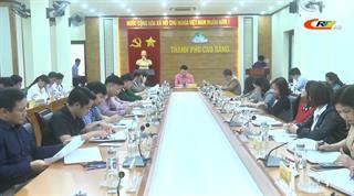 Thành phố Cao Bằng: Triển khai nhiệm vụ công tác 2 tháng cuối năm 2020