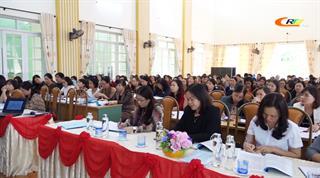 Sở Giáo dục và Đào tạo: Tập huấn đánh giá học sinh tiểu học theo Thông tư số 27/2020/TT-BGD&ĐT