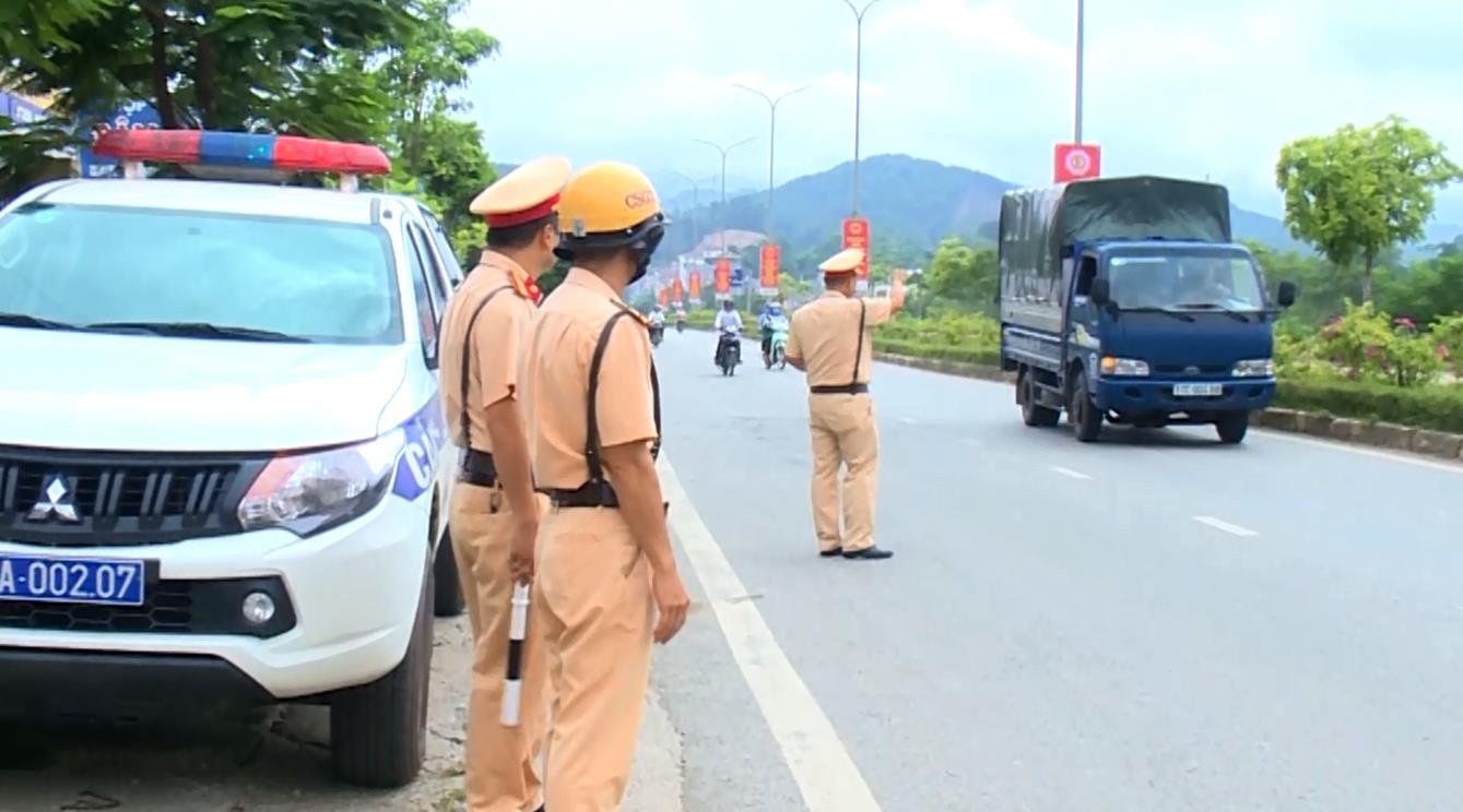 Triển khai các phương án đảm bảo trật tự an toàn giao thông, phục vụ Đại hội đại biểu Đảng bộ tỉnh lần thứ XIX, nhiệm kỳ 2020 - 2025
