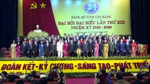 Đại hội đại biểu Đảng bộ tỉnh Cao Bằng lần thứ XIX, nhiệm kỳ 2020 - 2025 thành công tốt đẹp