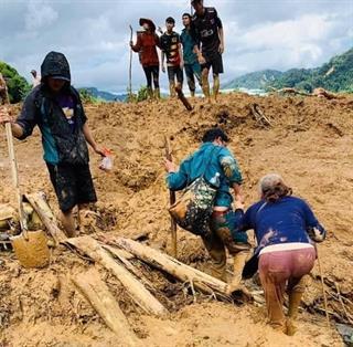 Quảng Nam: Thêm 01 vụ sạt lở vùi lấp 11 người