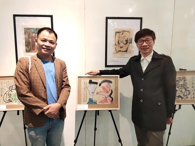 Triển lãm Hội họa Truyện Kiều của Họa sĩ Nguyễn Tuấn Sơn