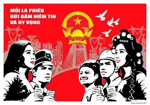 Phát động Cuộc thi tranh cổ động về bầu cử Quốc hội khóa XV