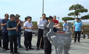 Đoàn lãnh đạo tỉnh Cao Bằng tham quan, học tập kinh nghiệm tại tỉnh Cà Mau