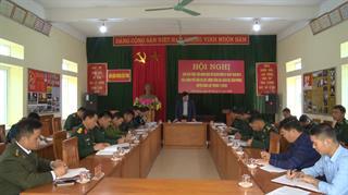 Bảo Lạc: Giao ban công tác thực hiện Nghị định 03 của Chính phủ giữa 3 lực lượng Công an, Quân sự, Biên phòng