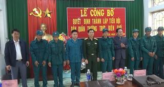 Hà Quảng: Thành lập Tiểu đội dân quân thường trực biên giới xã Tổng Cọt