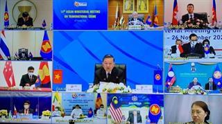 ASEAN tăng cường hợp tác trong đấu tranh phòng, chống tội phạm xuyên quốc gia