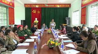Trùng Khánh: Kiểm tra kết quả thực hiện xây dựng nông thôn mới tại xã Ngọc Côn