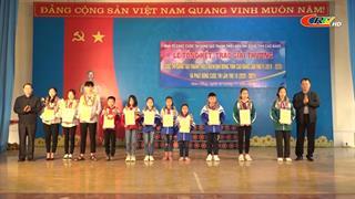 Tổng kết Cuộc thi sáng tạo thanh thiếu niên, nhi đồng tỉnh Cao Bằng lần thứ 9