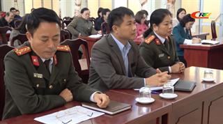 Tập huấn công tác bảo vệ bí mật Nhà nước và bảo vệ an ninh chính trị nội bộ