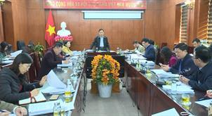 Ban kinh tế - Ngân sách HĐND tỉnh thẩm tra báo cáo, dự thảo nghị quyết trình Kỳ họp thứ 15, HĐND tỉnh khóa XVI