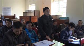 Đại biểu HĐND huyện Hạ Lang tiếp xúc cử tri trước Kỳ họp thứ 15 HĐND huyện khóa XIX, nhiệm kỳ 2016 - 2020