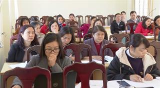 Tập huấn chuyên môn về y tế trường học