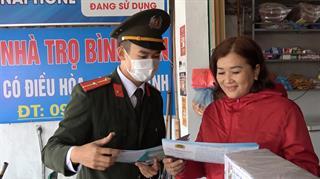 Công an thành phố Cao Bằng: Ra quân tuyên truyền chống xuất, nhập cảnh trái phép