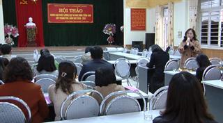 """Hội thảo """"Nâng cao chất lượng dạy và học môn tiếng Anh"""" cấp thành phố năm học 2020 - 2021"""