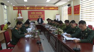 Thạch An: Giao ban 3 lực lượng Công an, Quân sự, Biên phòng tháng 11/2020