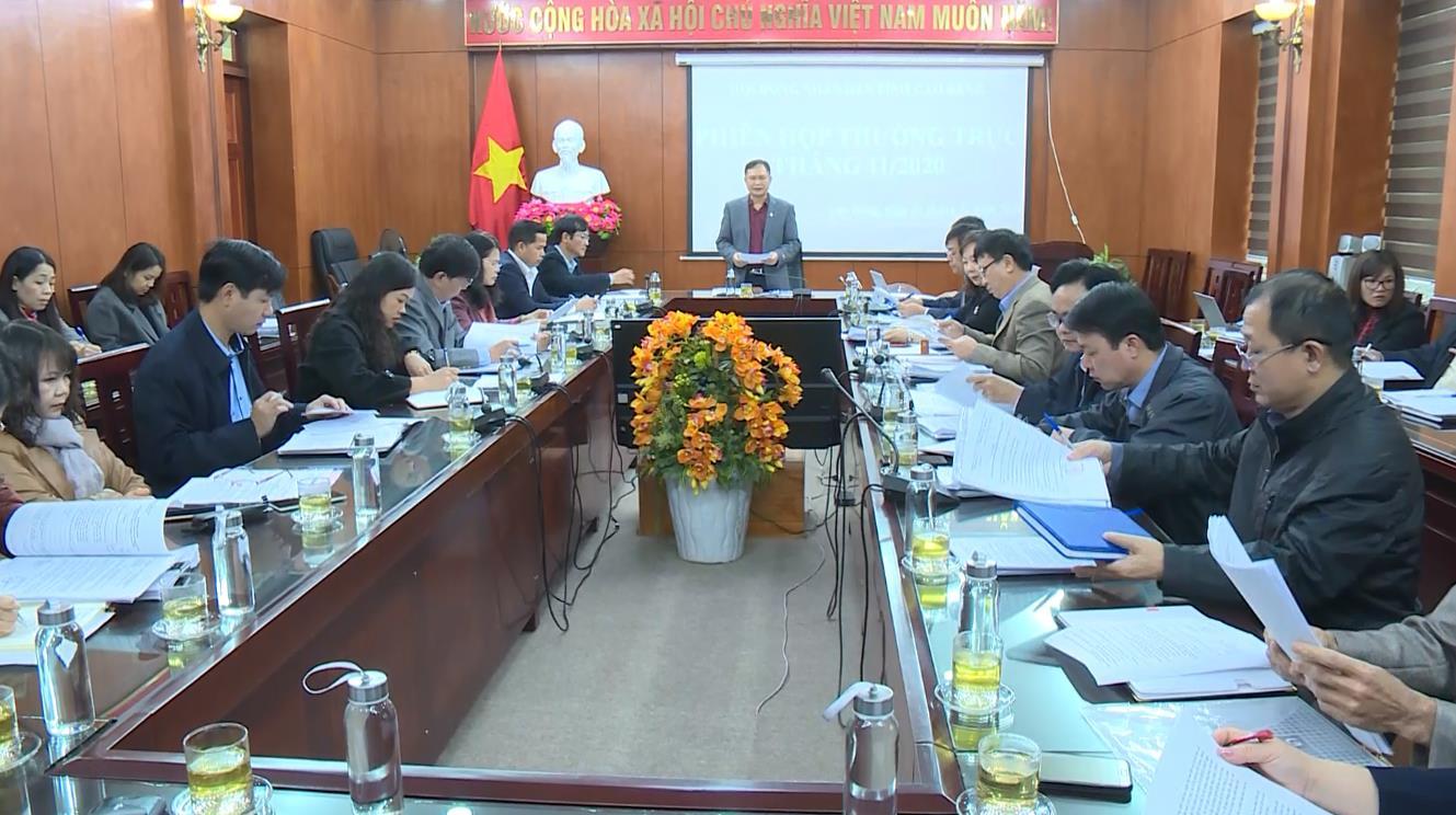 Phiên họp Thường trực HĐND tỉnh tháng 11/2020