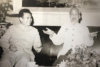 Những bức ảnh quý về mối quan hệ hữu nghị đặc biệt Việt Nam – Lào