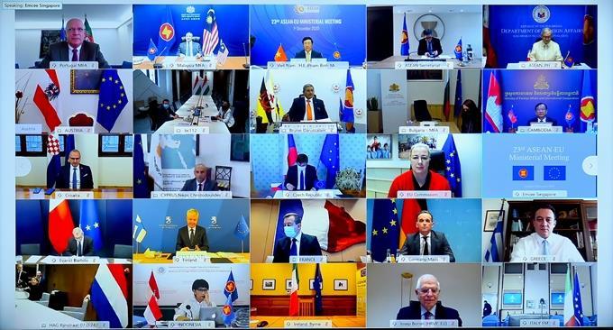 Chính thức nâng cấp quan hệ ASEAN-EU lên Đối tác chiến lược