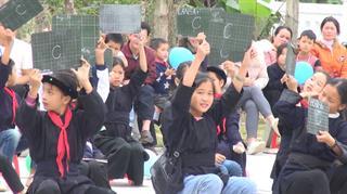 Quảng Hòa: Trường Tiểu học Đại Sơn ngoại khóa tìm hiểu lịch sử