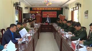 Hà Quảng: Hội nghị giao ban thực hiện Nghị định 03/2019/NĐ-CP giữa 3 lực lượng Công an, Quân sự, Biên phòng
