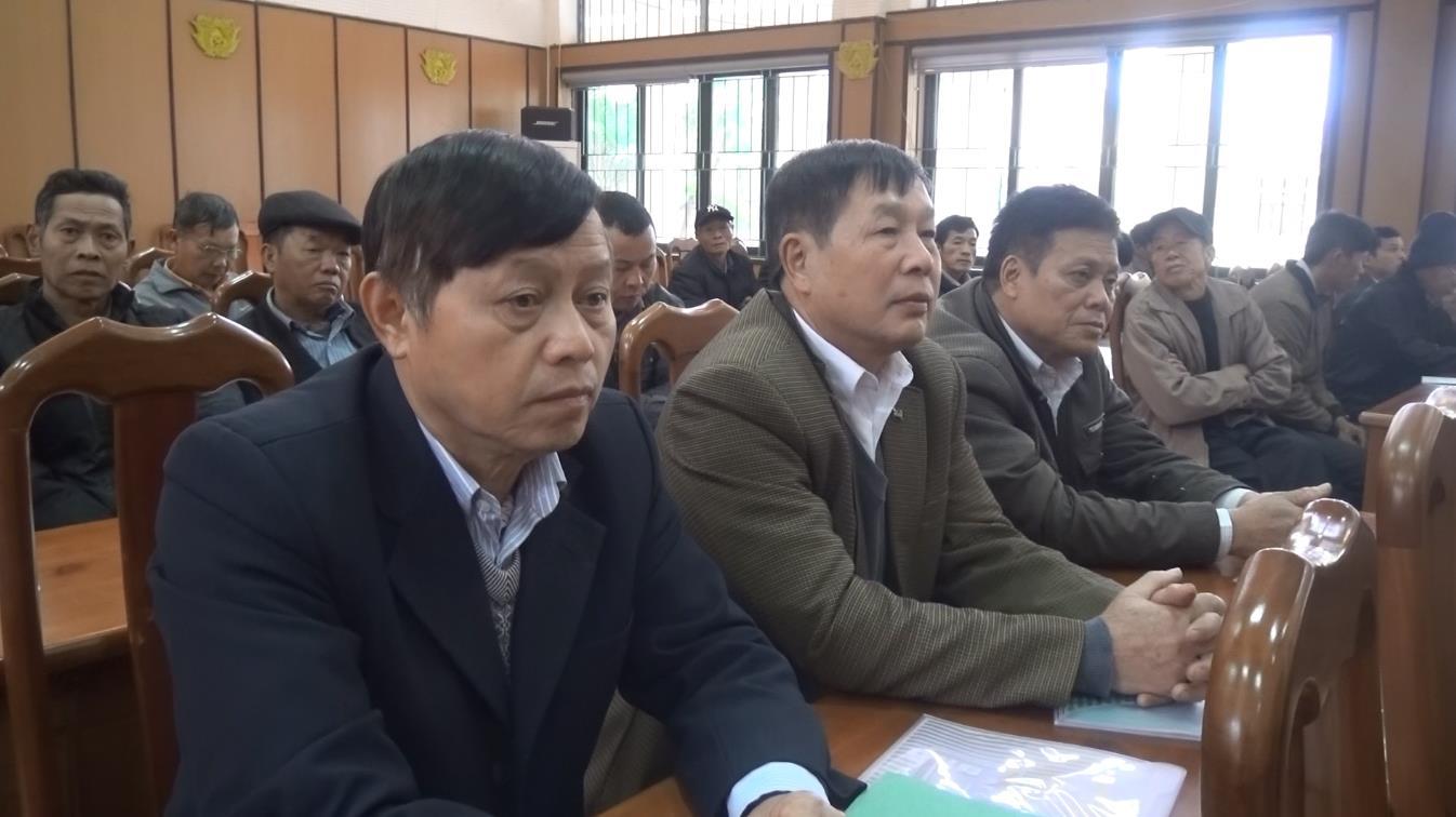 Hà Quảng: Hội nghị cung cấp thông tin cho người có uy tín