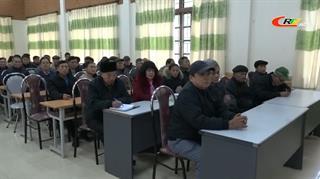 Quảng Hòa: Hội nghị phổ biến, quán triệt và cung cấp thông tin thời sự cho người có uy tín