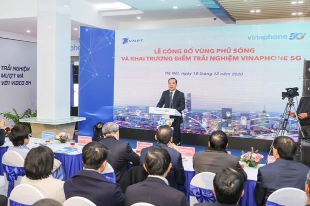 VNPT công bố vùng phủ sóng VinaPhone 5G tại Hà Nội và TP. Hồ Chí Minh