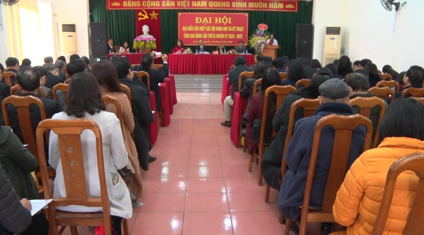 Đại hội đại biểu Liên hiệp các hội Khoa học và Kỹ thuật tỉnh Cao Bằng lần thứ IV, nhiệm kỳ 2020 - 2025
