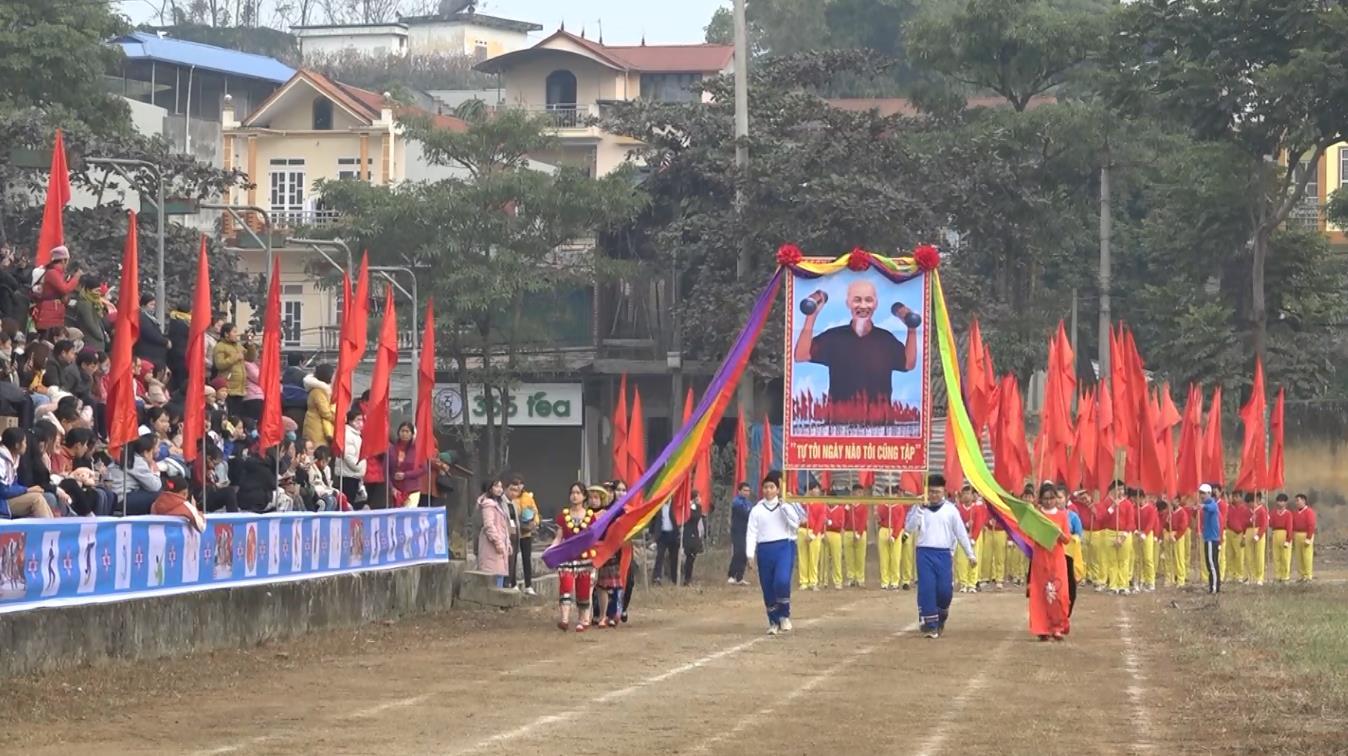 Hòa An: Khai mạc Hội khỏe Phù Đổng cấp huyện lần thứ X, năm 2020