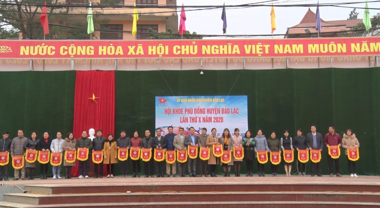 Khai mạc Hội khỏe Phù Đồng huyện Bảo Lạc lần thứ X năm 2020