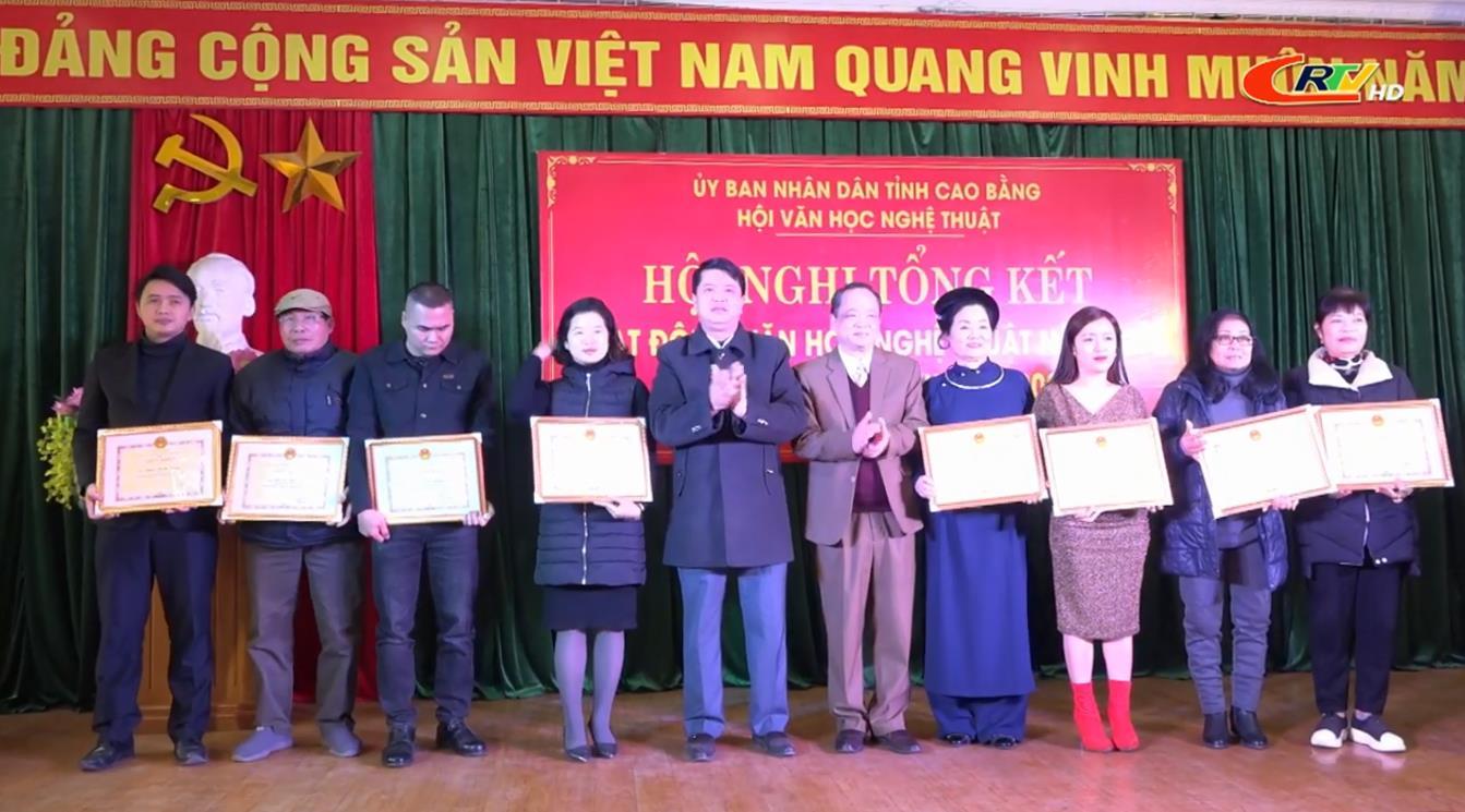 Hội Văn học nghệ thuật Cao Bằng: Triển khai nhiệm vụ năm 2021
