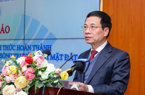 Việt Nam chính thức hoàn thành số hoá truyền hình mặt đất