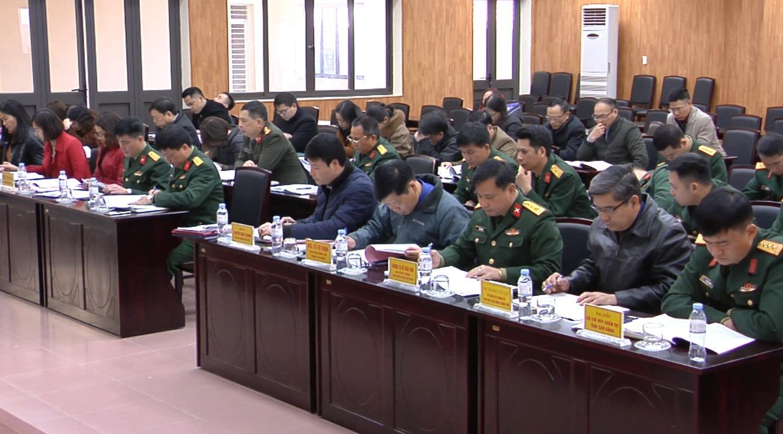 UBND thành phố Cao Bằng: Tổng kết công tác quân sự - quốc phòng, giáo dục quốc phòng và an ninh năm 2020