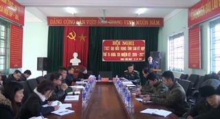 Đại biểu HĐND tỉnh tiếp xúc cử tri huyện Trùng Khánh