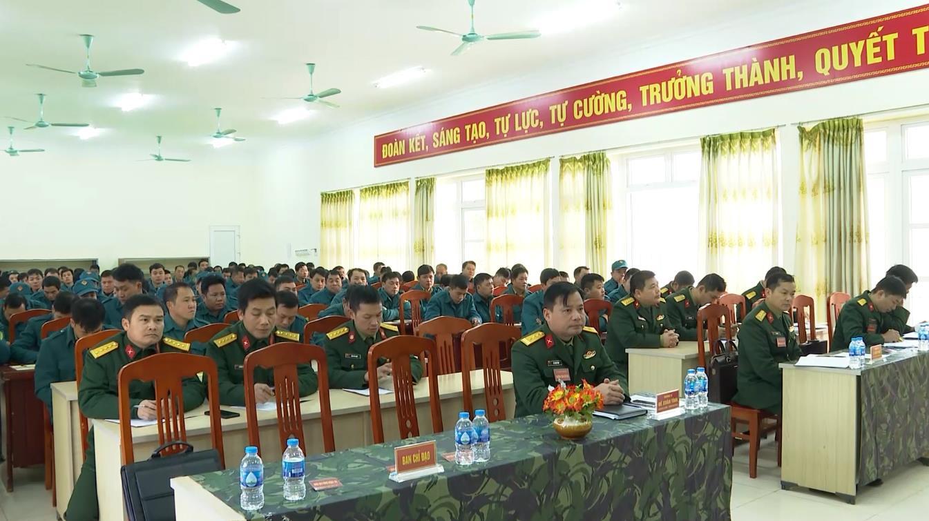 Bộ CHQS tỉnh: Khai mạc tập huấn cán bộ dân quân tự vệ năm 2021