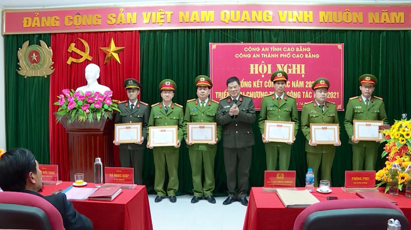 Công an Thành phố Cao Bằng: Tỷ lệ điều tra khám phá án đạt 90,2%
