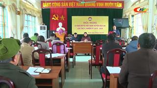Hội nghị lần thứ 4 Ủy ban MTTQ huyện Hòa An khóa XIV, nhiệm kỳ 2019 - 2024