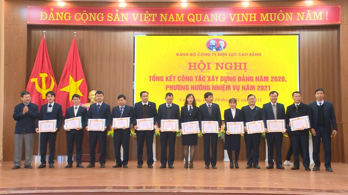 Đảng bộ Công ty Điện lực Cao Bằng: Tổng kết công tác xây dựng Đảng, triển khai nhiệm vụ năm 2021