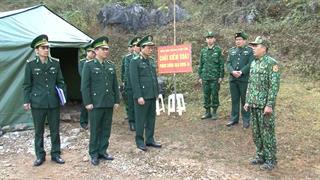 Kiểm tra công tác sẵn sàng chiến đấu bảo vệ tuyệt đối an toàn Đại hội đại biểu toàn quốc lần thứ XIII của Đảng và phòng, chống dịch Covid-19