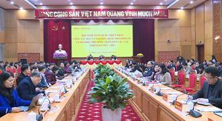Hội nghị trực tuyến toàn quốc triển khai công tác bầu cử đại biểu Quốc hội khóa XV và đại biểu HĐND các cấp nhiệm kỳ 2021 - 2026