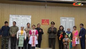 Lễ nghiệm thu, bàn giao nhà cho hộ nghèo có khó khăn về nhà ở tại huyện Hà Quảng (giai đoạn 1)