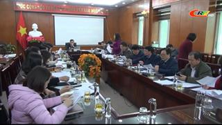 Thường trực HĐND tỉnh: Phiên họp tháng 1/2021