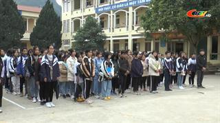 Trùng Khánh: 195 học sinh tham gia kỳ thi chọn học sinh giỏi THCS cấp huyện