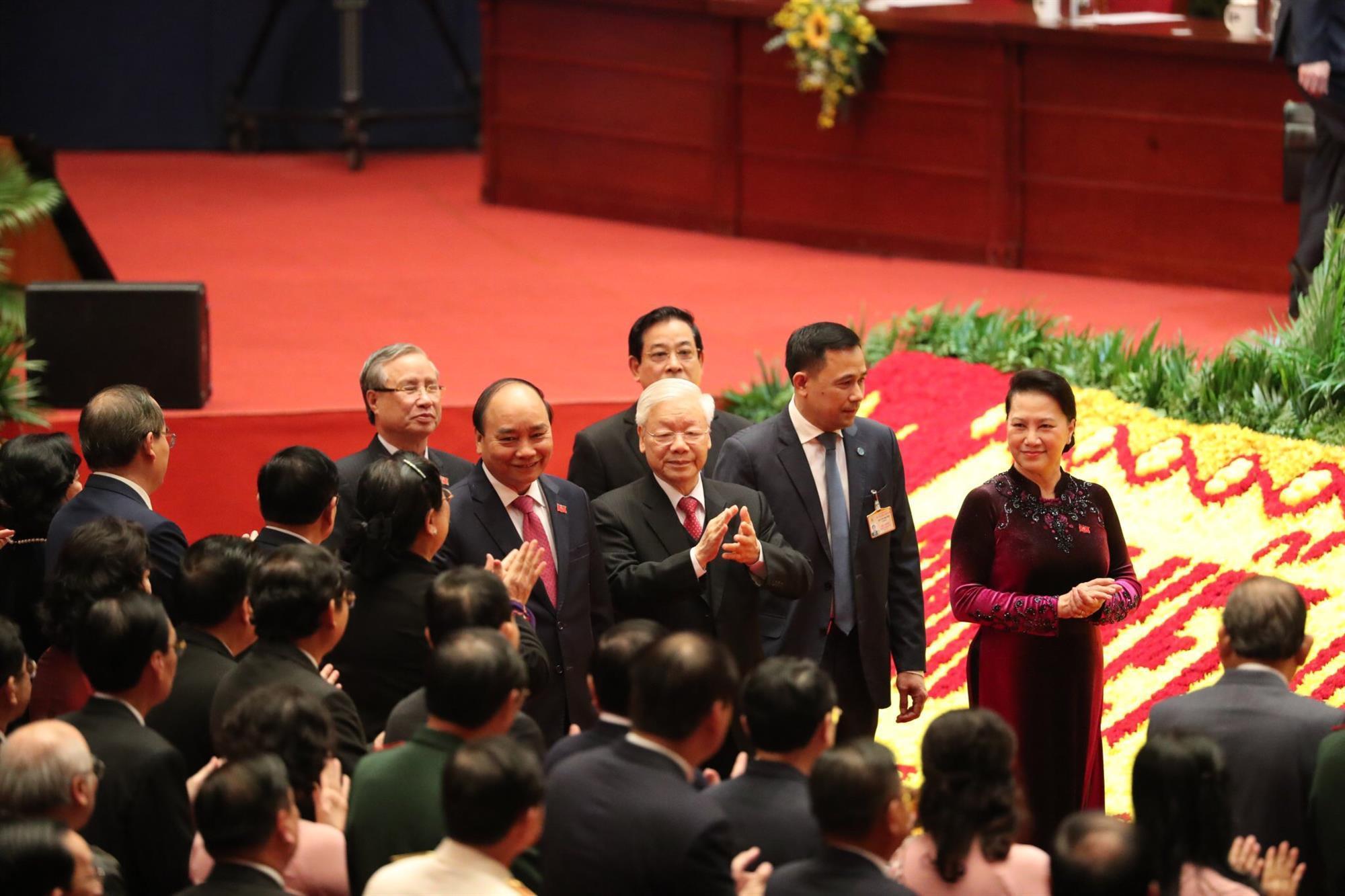 Chùm ảnh: Phiên trù bị Đại hội lần thứ XIII của Đảng