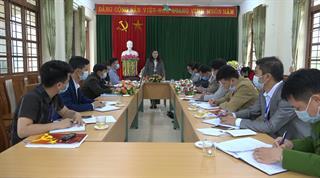 Hòa An: Giám sát công tác lãnh đạo, chỉ đạo bầu cử nhiệm kỳ 2021 - 2026 tại các xã, thị trấn